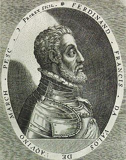 Fernando dÁvalos Neapolitan general of the Spanish army