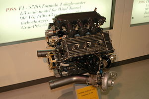 Ferrari F1/87 - Image: Ferrari 033D engine Museo Ferrari