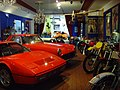 Ferrari Sportscar and Coupe at Boxenstop Car & Toy Museum.jpg