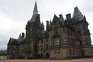 Fettes College - Fettes College from the south-east