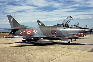 Fiat G91-Y, Italy - Air Force JP6991919.jpg