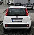 Fiat Panda 1.2 8V Lounge (III) – Heckansicht (1), 25. Februar 2012, Düsseldorf.jpg