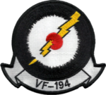 Fighter Squadron 194 (United States Navy) insignia 1957.png