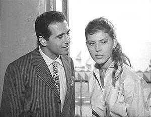 Luigi De Filippo - De Filippo with Claudia Mori in Cerasella (1959)