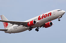 Lion Air , the largest low-cost airline in Indonesia .