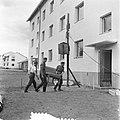 Finse soldaten richten de Hollandse flat in, Bestanddeelnr 905-2193.jpg