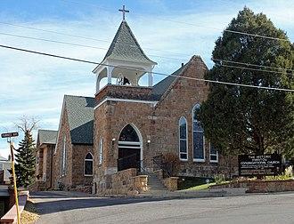 First Congregational Church (Manitou Springs, Colorado) - Image: First Congregational Church (Manitou Springs, Colorado)