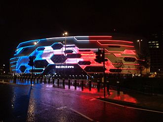 2014 Tour de France - The team presentation ceremony took place inside the First Direct Arena in Leeds, United Kingdom, on 3 July