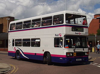 First Chester & The Wirral - Leyland Olympian in Chester in July 2007