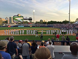 First Tennessee Park - Image: First Tennessee Park, April 17, 2015 18