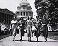 Five officers from the Women's Medical Specialist Corps Nlm nlmuid-101443693.jpg