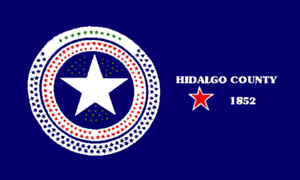 Weslaco, Texas - Image: Flag of Hidalgo County, Texas