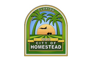 Homestead, Florida - Image: Flag of Homestead, Florida