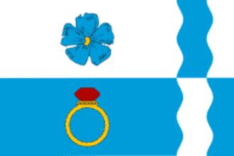 Privolzhsky District, Ivanovo Oblast - Image: Flag of Privolzhsky rayon (Ivanovo oblast)