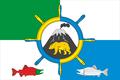 Flag of Zaporozhskoe (Kamchatka krai).png