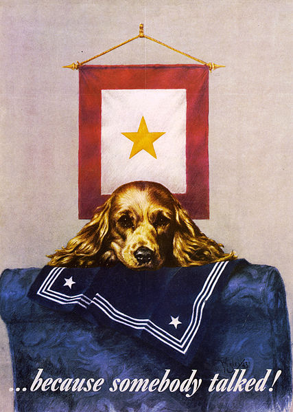 File:Flickr - …trialsanderrors - Sad puppy propaganda poster, 1944.jpg