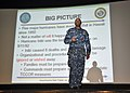 Flickr - Official U.S. Navy Imagery - Rear Adm. Frank Ponds, commander of Navy Region Hawaii, speaks at the Hurricane Exercise 2012 planning conference..jpg