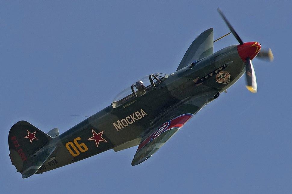Flight! Yakovlev Yak-9UM HB-RYA (8355282184)