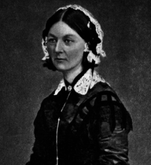 Nurse education - This is an image of Florence Nightingale in 1870