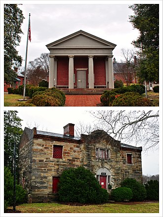 National Register of Historic Places listings in Fluvanna County, Virginia - Image: Fluvanna County Courthouse Historic District