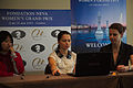 Fondation Neva Women's Grand Prix Geneva 11-05-2013 - Alexandra Kosteniuk during the press conference.jpg