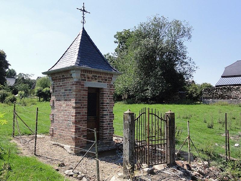 Fontenelle (Aisne, Fr) chapelle Chemin de Papleux