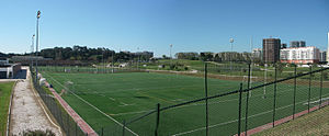 Estádio Universitário de Lisboa - Training pitches at EUL