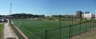 Estádio Universitário de Lisboa - Training pitches at EUL