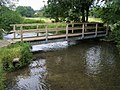 Footbridge over the River Chess - geograph.org.uk - 951363.jpg