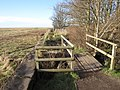 Footbridge over the boundary - geograph.org.uk - 1140403.jpg