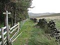 Footpath Junction near Wooler Knoll - geograph.org.uk - 861047.jpg