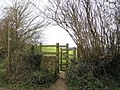 Footpath to Coker Hill Lane - geograph.org.uk - 1175393.jpg