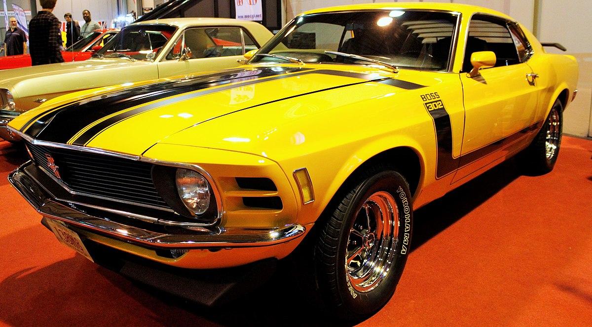 Boss 302 Mustang - Wikipedia