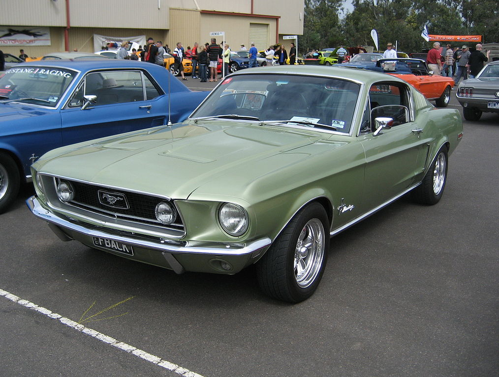 file ford mustang gt fastback 1968 2 jpg wikimedia commons. Black Bedroom Furniture Sets. Home Design Ideas