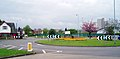 Forest Road roundabout, Loughborough - geograph.org.uk - 165410.jpg