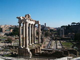 Foro romano tempio Saturno 09feb08 01.jpg