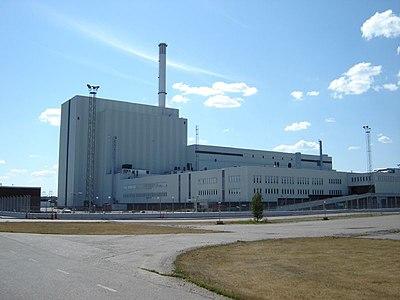 Reaktor 3 på kärnkraftverket Forsmark