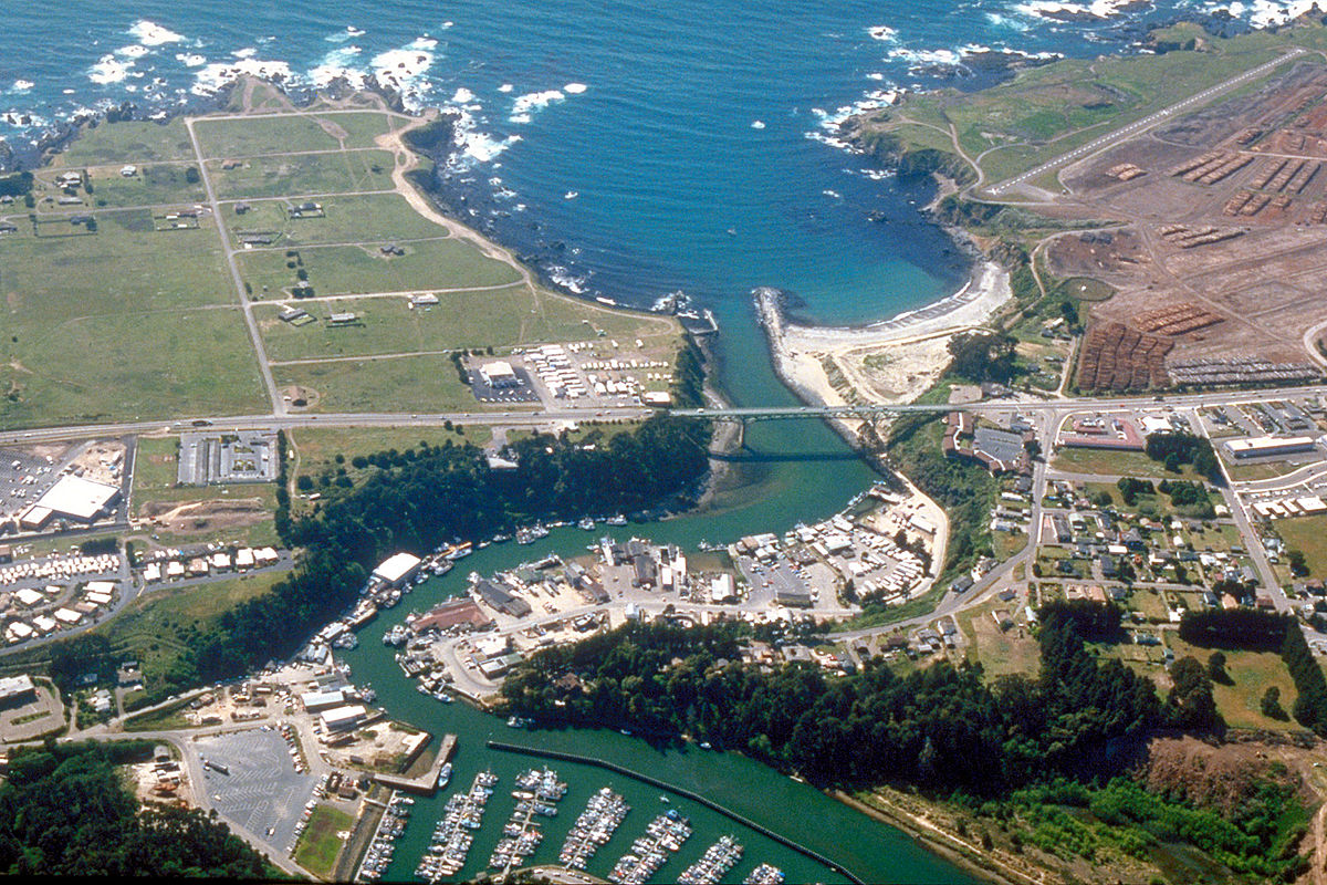 Fort Bragg, California...