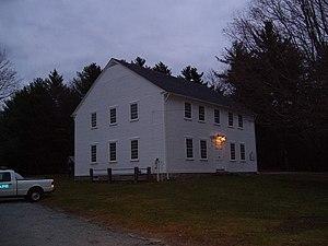 Foster Center, Rhode Island - Image: Foster Rhode Island Town Building