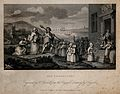 Foundling Hospital; Captain Coram and several children, the Wellcome V0049243.jpg