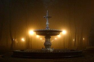 Mariinsky Park - Fountain in Mariinsky park