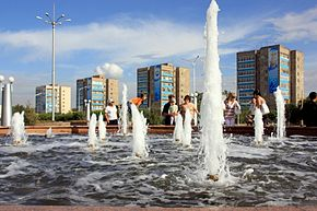 Fountains in Temirtau.jpg