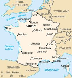 frankrike karta Frankrike – Wikipedia frankrike karta