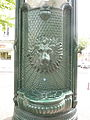 Fr Grenoble Lion adversiting column and fountain 2.jpg
