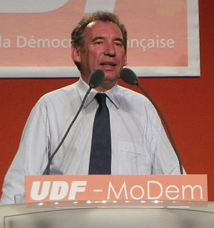 Democratic Movement (France) - François Bayrou