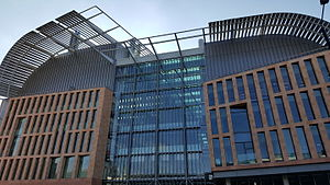 Francis Crick Institute - The new Francis Crick Institute building, photographed in October 2015.
