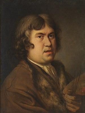 Francisco Leonardoni - Self Portrait, oil on canvas, in the collection of the Museo del Prado, Madrid.