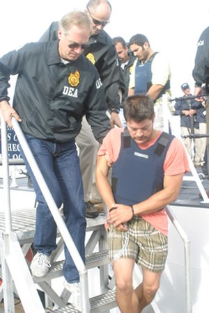 Mexican Drug War - Francisco Javier Arellano Félix was captured by DEA.