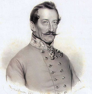 Battle of Kápolna - Franz Wyss, who died in the Battle of Csorna. Contemporary lithograph