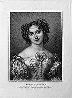 Franz Xaver Stöber (1795-1858), Sophie Müller, nach Ender, Punktierstich, D1649.jpg